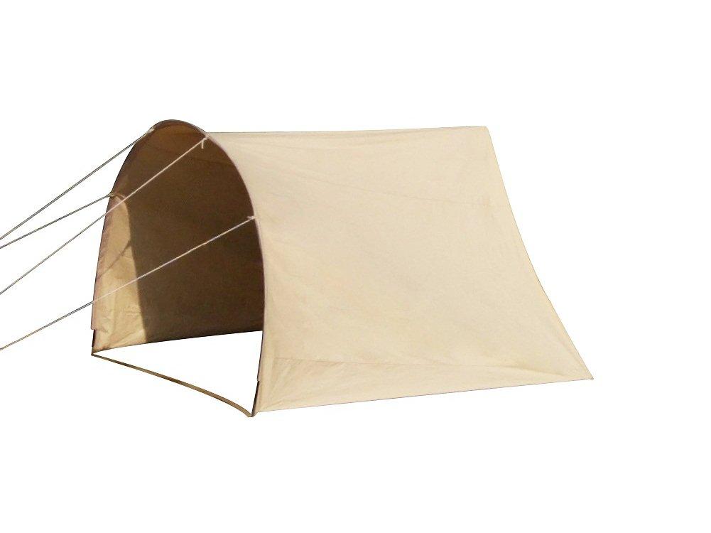 Bell Tent ベルテント特大 ハイクオリティ 100%コットン仕様 防水 ティーピーテント B07B9TLZNQ Width 300cm x Depth 180cm Arched Awning Arched Awning Width 300cm x Depth 180cm