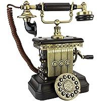 Antique Phone - Victorian Magneto 1923 Rotary Telephone - Corded Retro Phone - Vintage Decorative Telephones