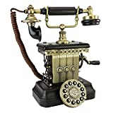 Antique Phone - Victorian Magneto 1923 Rotary Telephone - Corded Retro Phone - Vintage Decorative Telephones