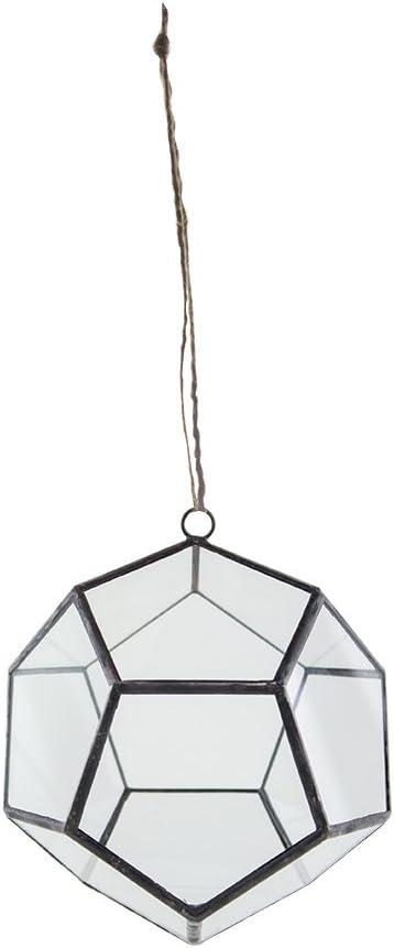 Syndicate Sales Art Deco,Deo-dodecahedron Terrarium, 6