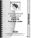 International Harvester 510 Front End Loader Parts Manual