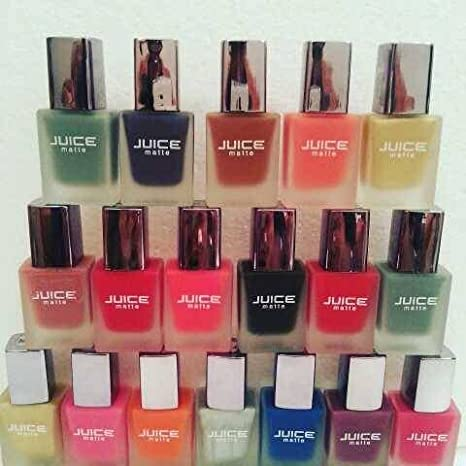 Buy Juice Ice Matte Nail Paint (12 Piece Set) Online at Low Prices ...