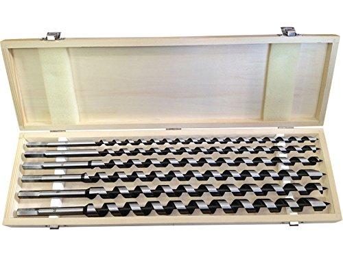 Extol Premium Holzschlangenbohrer, Set 6 Stück, 8801292
