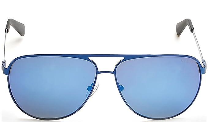 Gafas de sol Guess GU6841 C62 91X (matte blue / blu mirror ...