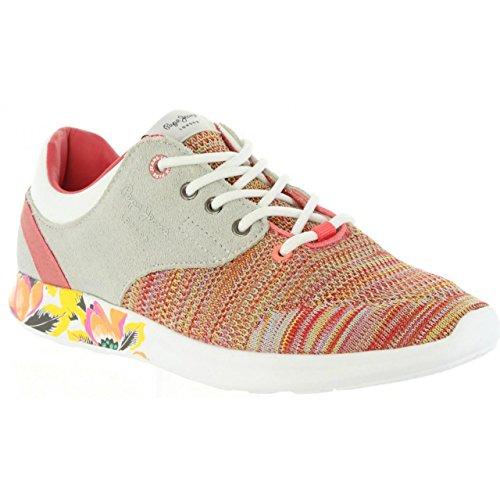 Scarpe Sport per Donna e Bambina Pepe Jeans PGS30291 Amanda 169 Light Coral
