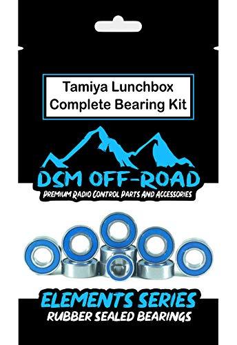 Tamiya Lunchbox, Grasshopper, Midnight Pumpkin, Hornet, Mad Bull DT-01 Bearing Kit Set -10 Bearings