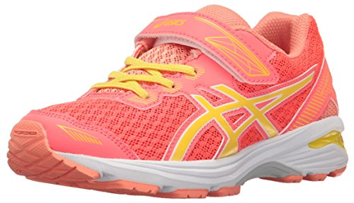 Price comparison product image ASICS Girls' GT-1000 5 PS Running Shoe, Diva Pink/Sun/Melon, 10 M US Toddler
