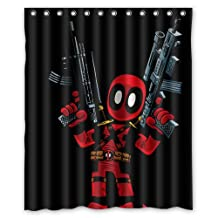 High-Grade Game and Comics Deadpool Custom Shower Curtain 60x72 Inch Perfect