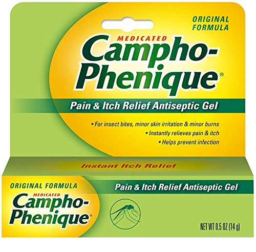 Campho-Phenique Antiseptic Gel, 0.5 oz (Pack of 4) ()