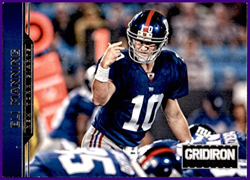 2012 Panini Gridiron #125 Eli Manning NEW YORK GIANTS OLE MISS MISSISSIPPI REBELS