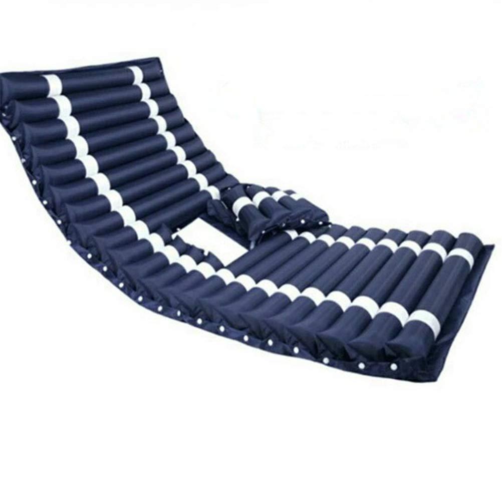 Dbtxwd Anti-Decubitus Alternating Pressure Inflatable Mattress for Bedridden Elderly Or Patient Bedsore Treatment Pain Relief Cushion,20090CM,02