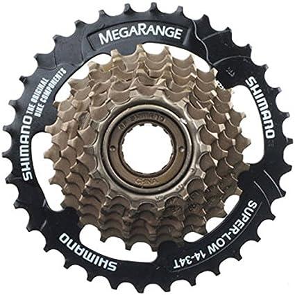 Shimano MF-TZ31 7 Speed Cassette Megarange Screw-On Freewheel 14-34T Bicycle