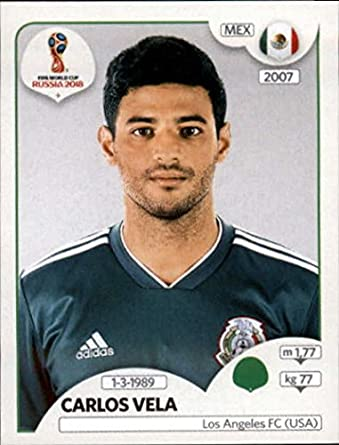 2018 panini world cup stickers russia 469 carlos vela