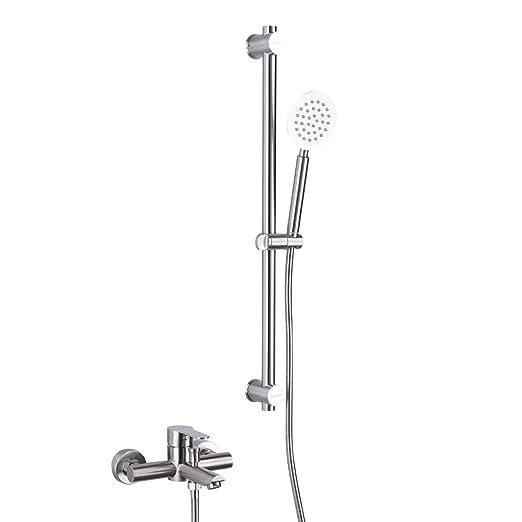 Tecmolog SNA516F - Conjunto de ducha (acero inoxidable ...