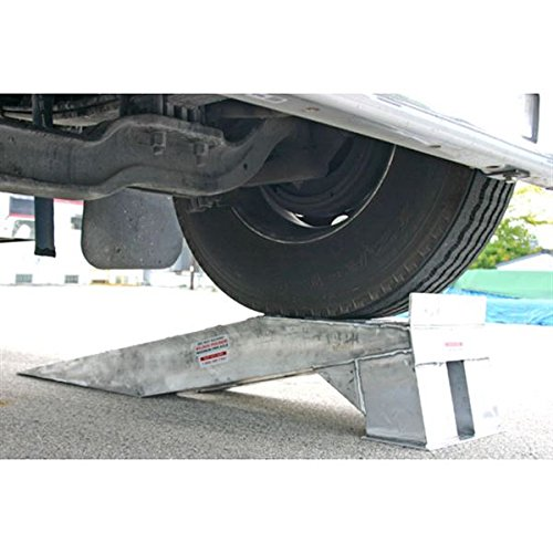 Pair of Aluminum Semi Truck Wheel Riser Service Ramps by Rage Powersports (Image #1)