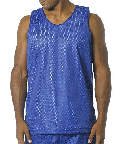 Bleu Réversible Homme nbsp;pour nvw A4 Nf1270 Roi Débardeur nbsp;nf1270 blanc En Maille XTzwqw