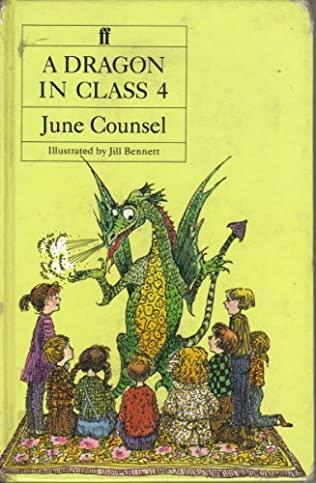 book cover of A Dragon in Class 4