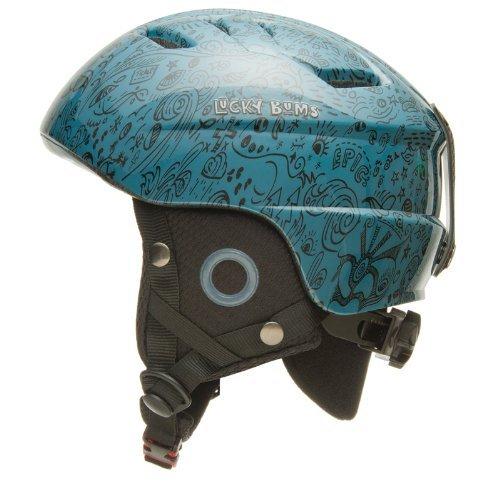 Lucky Bums Kid's Alpine Series Helmet, Slate - Medium/Large