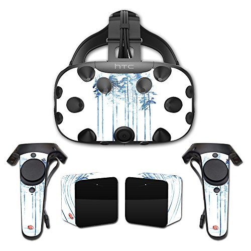 (MightySkins Skin for HTC Vive Full Coverage - Sleeping in The Woods   Protective, Durable, and Unique Vinyl Decal wrap Cover   Easy to Apply, Remove, and Change Styles  )