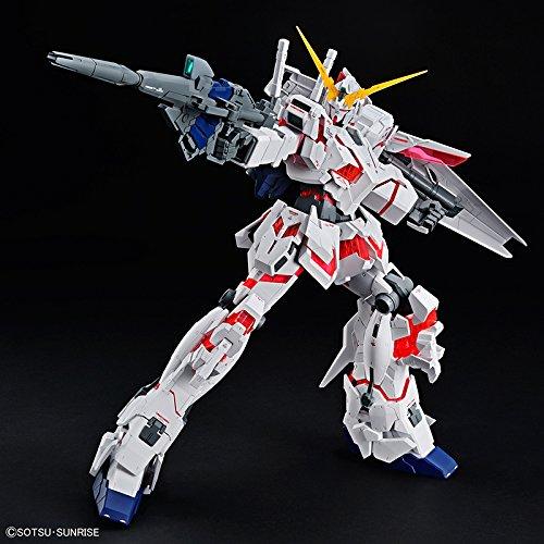 Bandai Hobby Mega Size 1/48 Unicorn Gundam [Destroy Mode] Gundam UC Model Kit Figure by Bandai Hobby (Image #3)