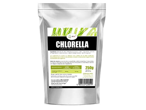 Chlorella 500mg 1000 comprimidos Pack Ahorro: Amazon.es ...