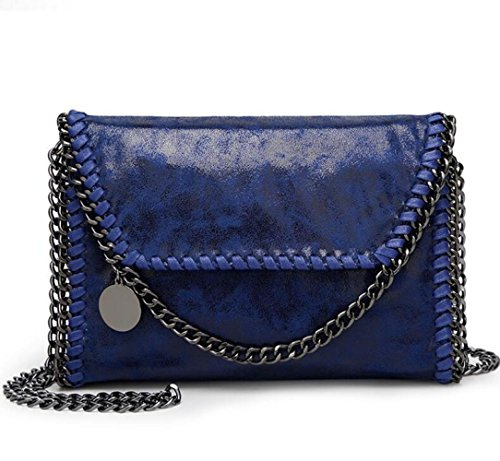 Wlfhm Handbag Clutch Shoulder Casual Bag Chain Bag Woman Blue Bag Cross Body RRaOq