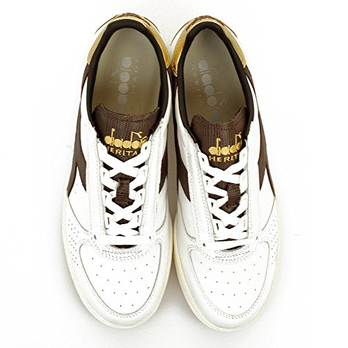 DIADORA zapatilla modelo B Elite Blanco/Oro 40,5