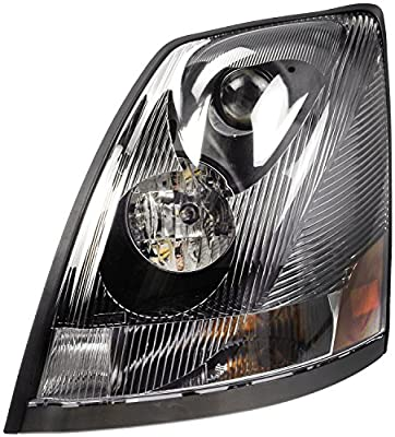 Volvo 04 - 15 VN VNL VNM Truck 200 300 430 630 670 730 780 Head Light Left Side
