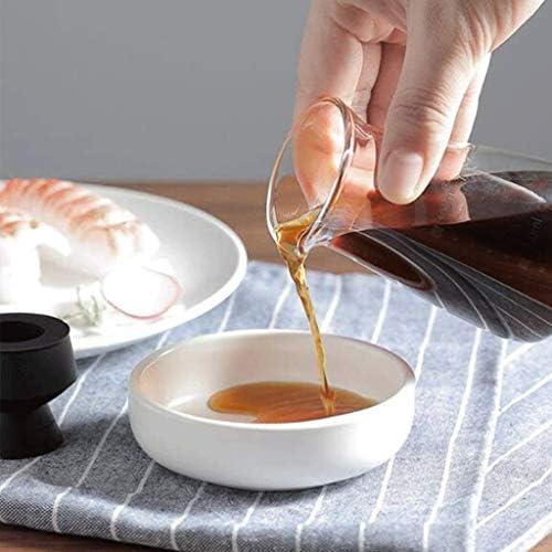 WZHZJ Las Botellas de condimentos, Aceite de Oliva dispensador de la Botella de Cristal de la vinagrera, for la Cocina Que Cocina de contenedores: Amazon.es: Hogar