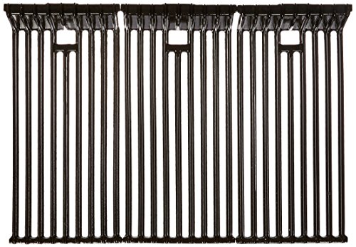 - Music City Metals 62203 Gloss Cast Iron Cooking Grid Replacement for Select Broilmaster Gas Grill Models, Set of 3