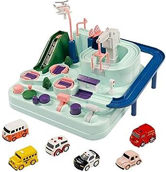 Toys Car Adventure Track Racer Set Juego de Mesa de operación ...