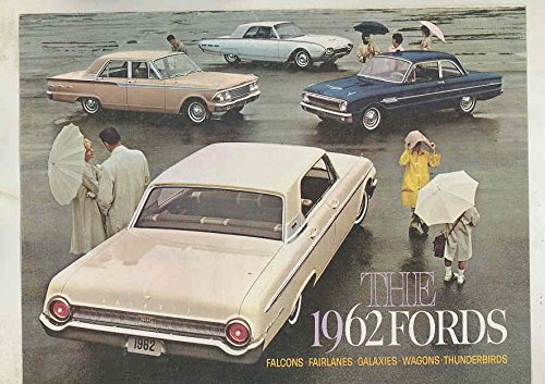 1962 Ford Falcon Fairlane Galaxie Thunderbird Wagon Brochure Revised 9/61 (Brochure Thunderbird)