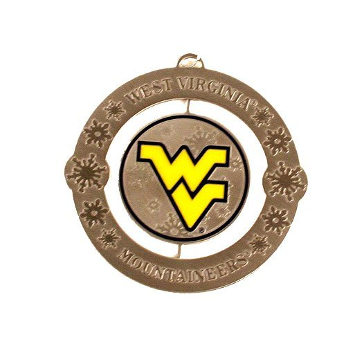 West Virginia Mountaineers NCAA Holiday Ornament