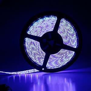5M 3528 Blue RGB 300 SMD LED Flexible Strip Light Waterproof DC12V (Waterproof)