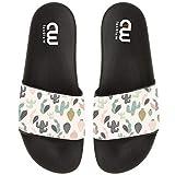Cartoon Cactus Print Summer Slide Slippers For Girl Boy Kid Non-Slip Sandal Shoes size 3
