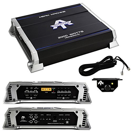New Autotek MMA2000.1D 2000 Watt Mono Class D Amplifier Mean Machine Car Amp (Amp Machine Mean)