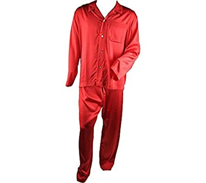 Indulge yourself in our collection of red silk pajamas. Made from hypo-allergenic % silk, you'll feel the luxurious that you so deserve.
