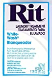 Arts & Crafts : Rit Dye Laundry Treatment White-wash Stain Remover and Whitener Powder, 1-7/8 oz, White, 3-Pack