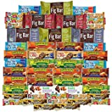 Healthy Snacks To Go Healthy Mixed Snack Box & Snacks Gift Variety Pack (Care Package 50 Count)