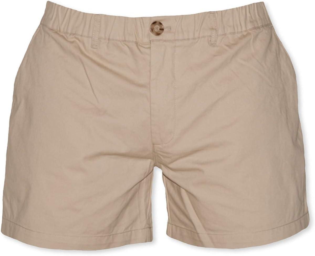 "Meripex Apparel Men's 5.5"" Inseam Elastic-Waist Short Shorts 4-Way Stretch"