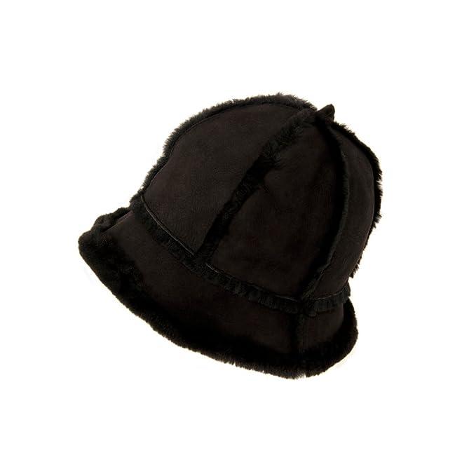 0f6d3d72296bd4 Ricardo B.H. Women's Genuine Sheepskin Bucket Hat: Amazon.ca ...
