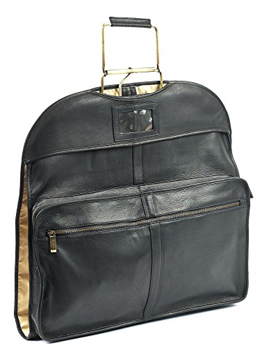 Garment Carrier - Leather Garment Carrier