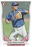 2014 Bowman Prospects #BP49 Isiah Kiner-Falefa - Texas Rangers (Rookie / Prospect)(Baseball Cards)