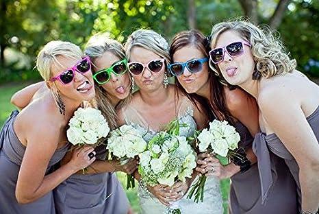 White Wholesale Unisex 80S Retro Neon Party Favor Sunglasses Bulk for Adults 10 Pack