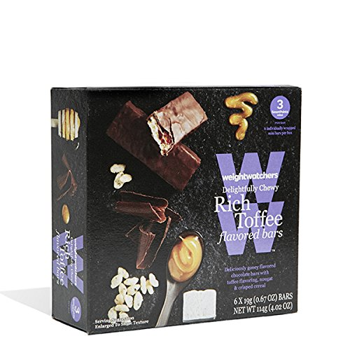 Weight Watchers Rich Toffee Mini Bars