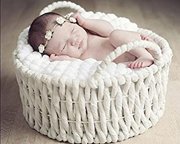 amazon com aixiang newborn baby photo props basket infant