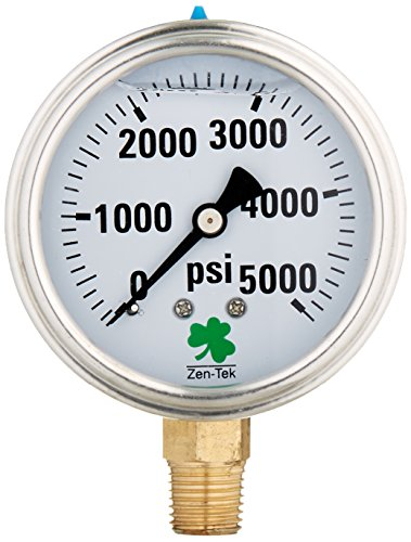 high pressure oil gauge - 3