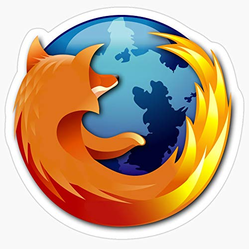 Deangelo Firefox Logo Stickers (3 Pcs/Pack) (Best Editor For Haskell)