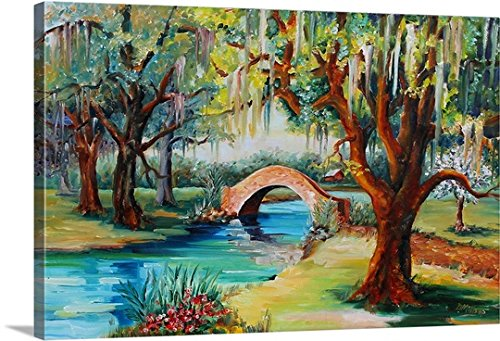 Gallery-Wrapped Canvas entitled City Park, New Orleans by Diane Millsap 24