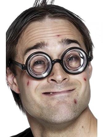 8e5c8d69e9 Nerd Glasses Round Bubbles Glasses Bug Eyes Specs Coke Bottle Costume  Novelty Glasses Nicky Bigs Novelties 39683